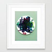 Pi Chart Framed Art Print
