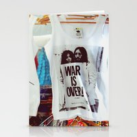War Is Over Stationery Cards
