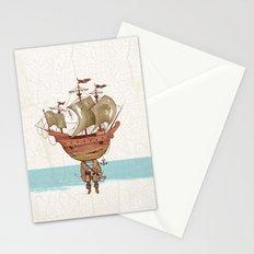 Stormy Monday Stationery Cards