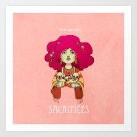 Sacrifices Art Print