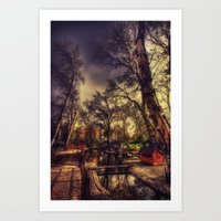 The Swanheart Art Print