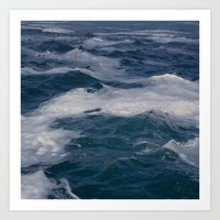 Sea Foam Art Print