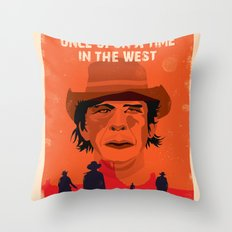 Once Upon A Time In The West Poster: Harmonica Throw Pillow