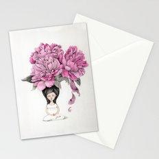 Meditation moment Stationery Cards