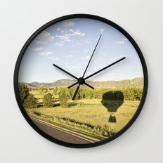 away we go::denver Wall Clock
