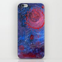 Blue Night iPhone & iPod Skin