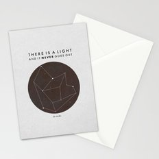 There Is A Light Stationery Cards