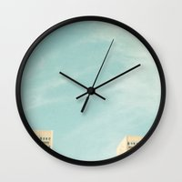 Tower Blocks Wall Clock