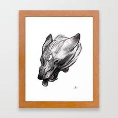Three Eye Framed Art Print