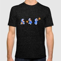 Ice Climber Mens Fitted Tee Tri-Black SMALL