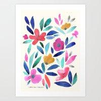 Ohana Flower Art Print