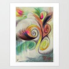 MindCloud Art Print