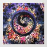 Oracular Orbit Canvas Print