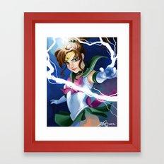 Supreme Thunder! Framed Art Print