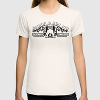 Bishop & Son Ltd Womens Fitted Tee Natural SMALL
