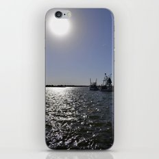 reflections at the pier iPhone & iPod Skin