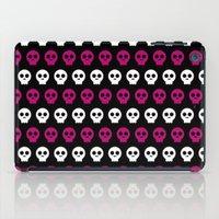 Skull Preppie Candy Girl iPad Case