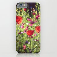 A floral spot on Earth iPhone 6 Slim Case