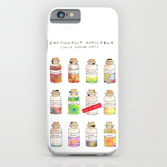 Emotionally Available iPhone & iPod Case