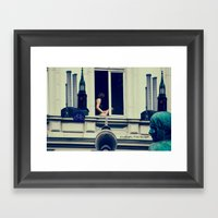 Berlin Is Calling The Li… Framed Art Print