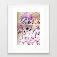 Wood Nymph Framed Art Print