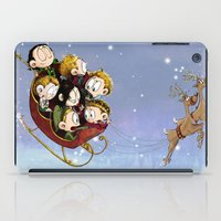 Little Hiddles Christmas Time iPad Case