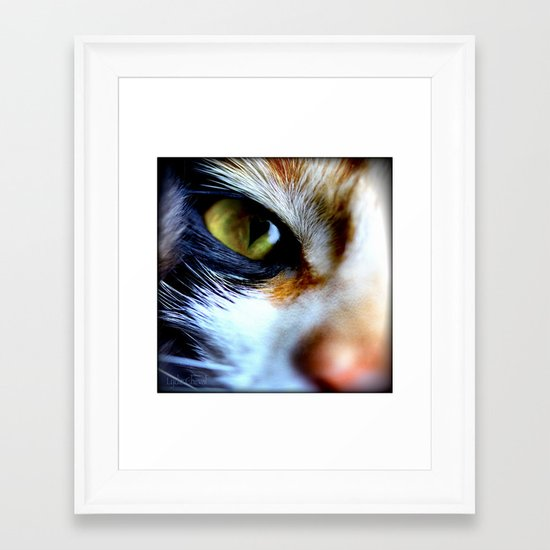 I can read your mind Framed Art Print