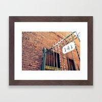 141 Framed Art Print