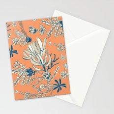 Orange Cradle Flora Stationery Cards