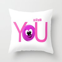 Only You Throw Pillow