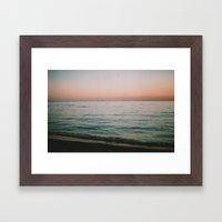 Fourteen Framed Art Print