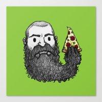 Beard Slice Canvas Print