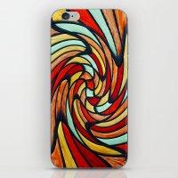 chromatic swirl iPhone & iPod Skin