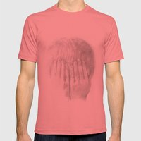 You Can't See Me Mens Fitted Tee Pomegranate SMALL