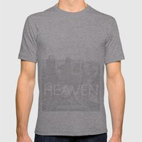 Heaven Los Angeles Mens Fitted Tee Athletic Grey SMALL