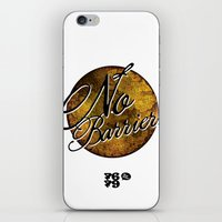 No Barriers iPhone & iPod Skin