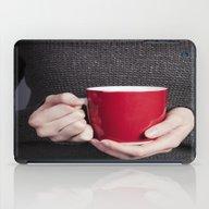 Red Mug iPad Case