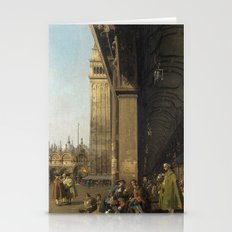 Venice, The Piazza San M… Stationery Cards