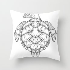 Where is it We Are Going? Throw Pillow