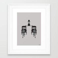 Epic Lincoln Framed Art Print