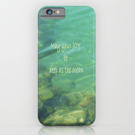 Ocean of Joy iPhone & iPod Case
