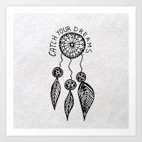 Catch Your Dreams  Art Print