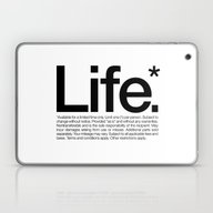 Life.* Available For A L… Laptop & iPad Skin