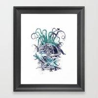 Strange Artefact Amuseme… Framed Art Print