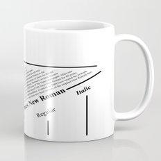 The Times New Roman Mug
