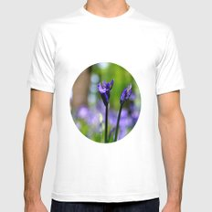 drowning in the bluebell sea Mens Fitted Tee SMALL White