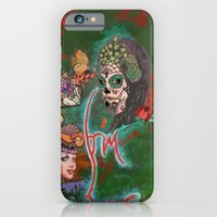 iPhone & iPod Case featuring Night of the Dead by Icelandria