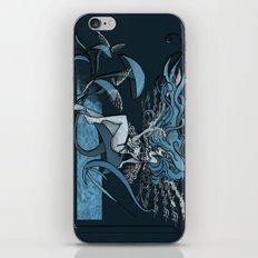 Faery in Blue iPhone & iPod Skin