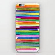 Colorful Stripes 1 iPhone & iPod Skin