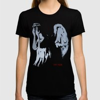 Don't Blink Womens Fitted Tee Black SMALL